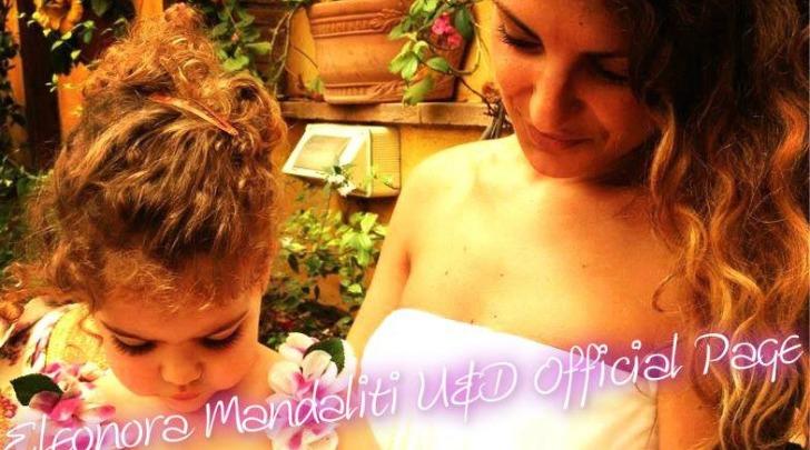 Eleonora Mandaliti e la piccola Penelope