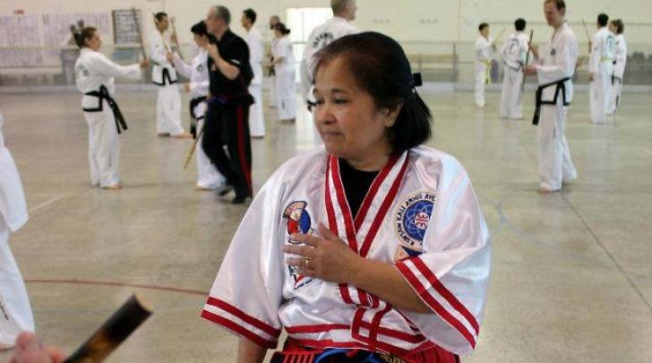 La maestra Librada Ramos
