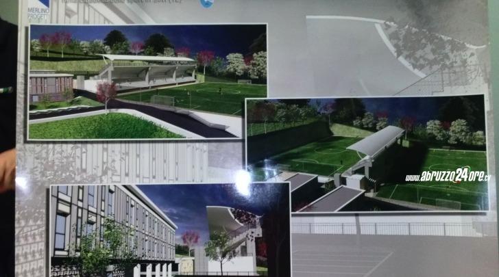 progetto centro sportivo Pescara