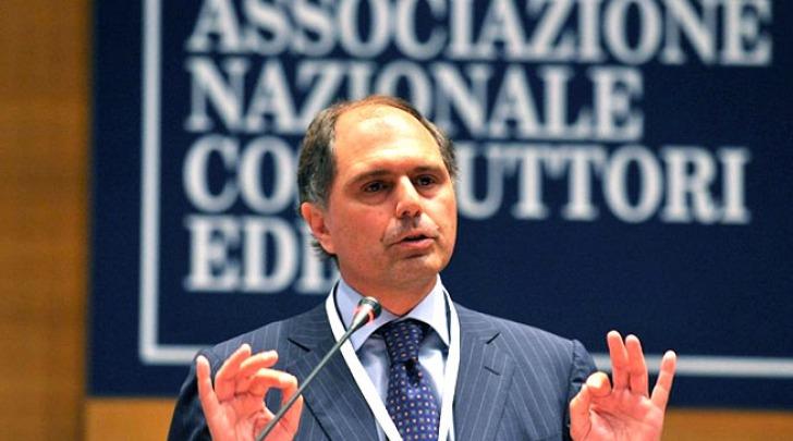 Paolo Buzzetti, presidente dell'Ance