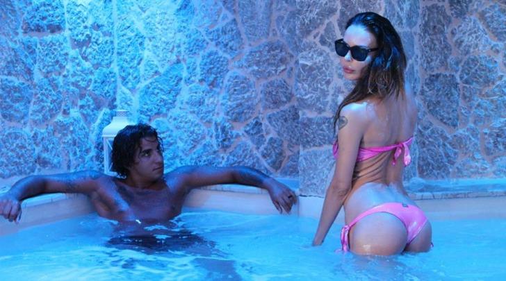 Mirko Scarcella e Nina Moric