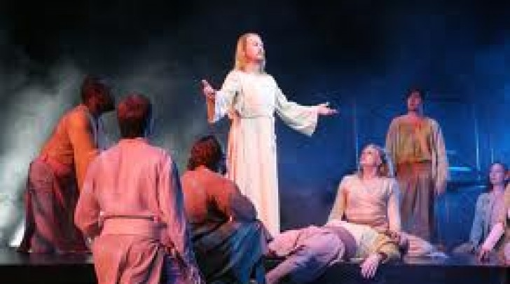 Un momento del musical  Jesus Christ Superstar