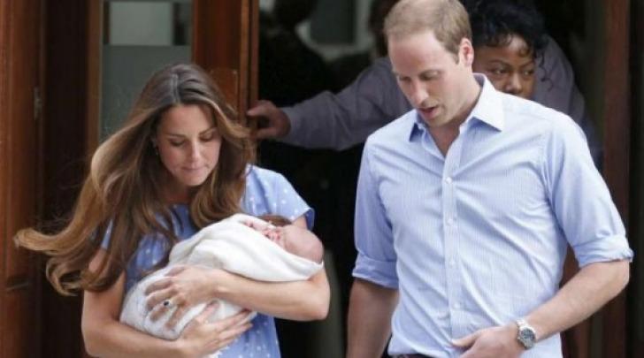 William, Kate e Charles