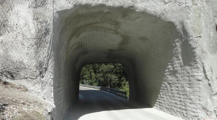 Il tunnel di Madonna d'Appari