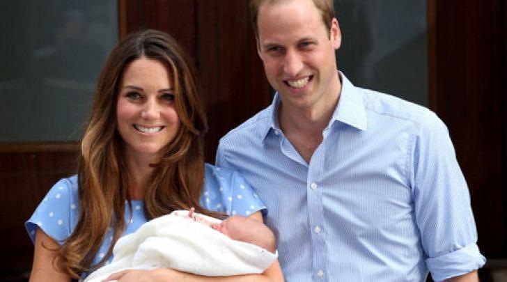 William e Kate con il piccolo George Alexander