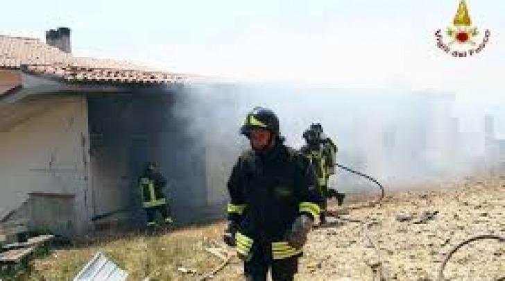 Foto corpo vigili del fuoco