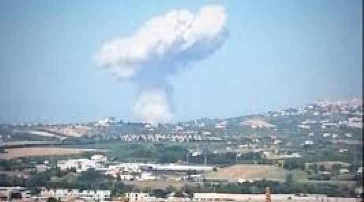 L'esplosione della fabbrica a Villa Cipressi