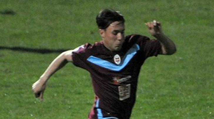 Luca Lulli ai tempi del Como (stagione 2011/12)