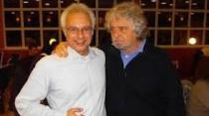 Roberto Cotti e Beppe Grillo