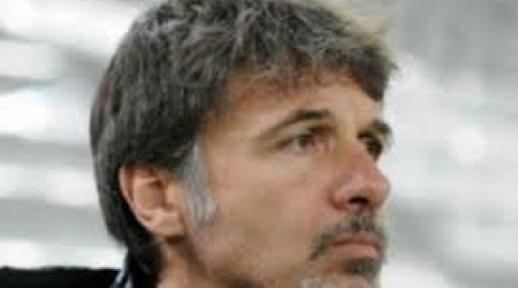 L'allenatore rossonero Marco Baroni