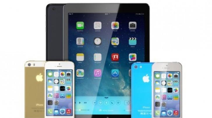 iPhone 5S, iPhone 5C e iPad 5