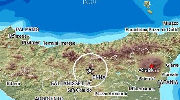 Scossa sismica Madonie