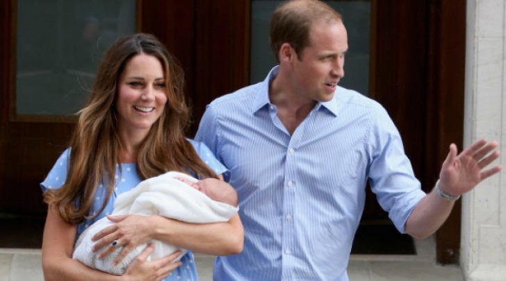 Kate, William e il piccolo George