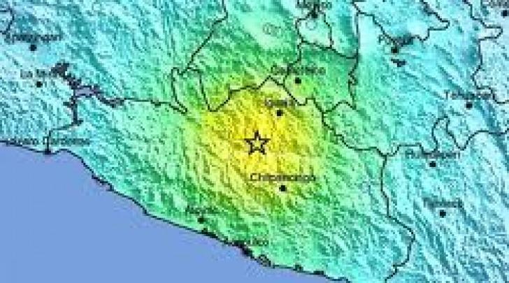 Cartina Guerrero Mexico