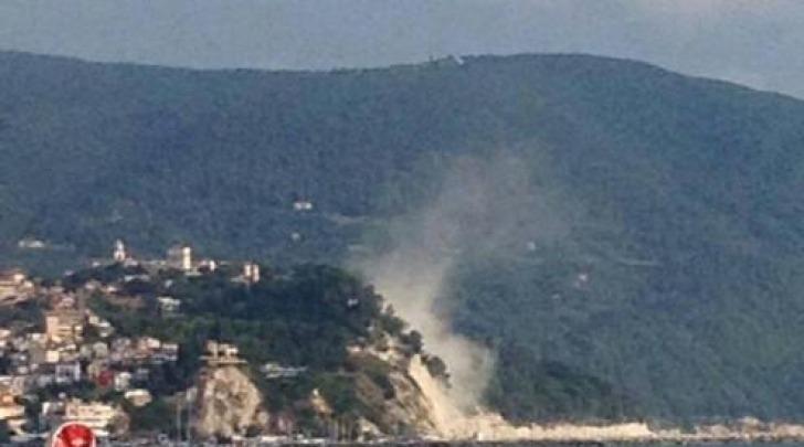 frana dopo terremoto Ancona