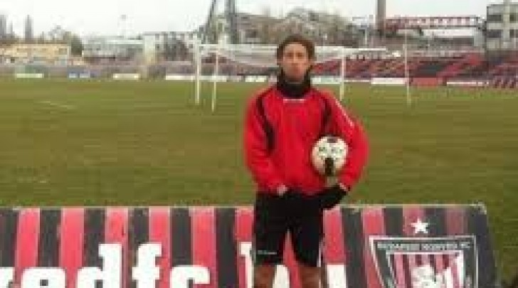 Luca Del Papa all'Honved