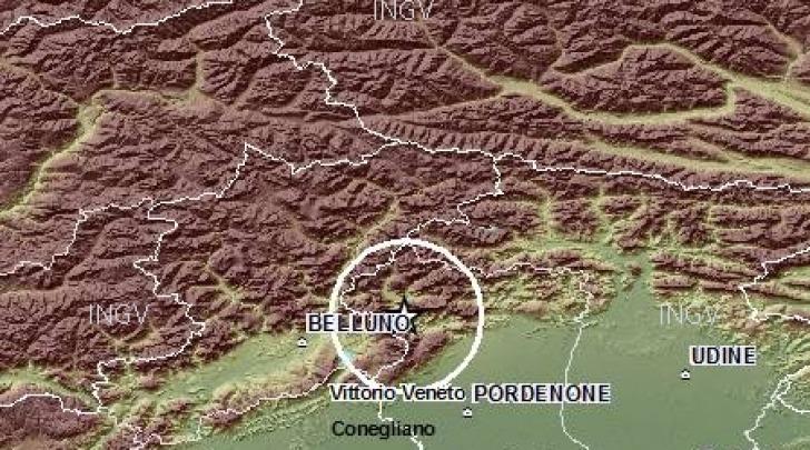 Terremoto Belluno