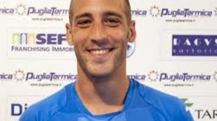 Giulio Daleno con la maglia del Martina