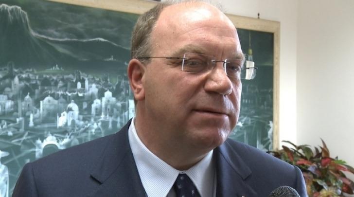 Il presidente della Provincia Antonio Del Corvo