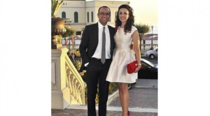 Carlo Conti e Francesca Vaccaro