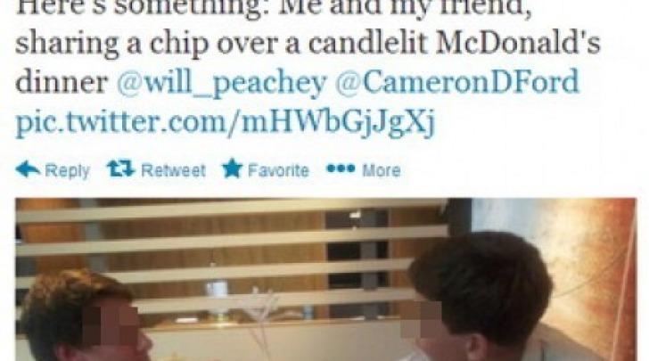 Cena romantica McDonald's