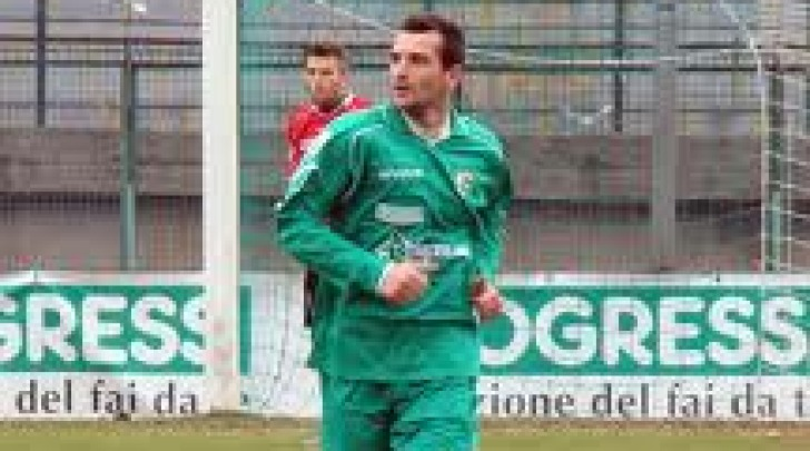 Salvatore Arcuri con la casacca dell'Avellino nel 2011