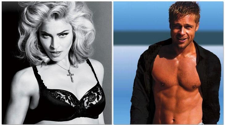 Madonna  - Brad Pitt
