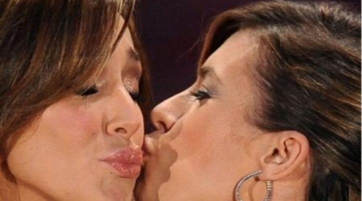 Elisabetta Canalis e Belen Rodriguez
