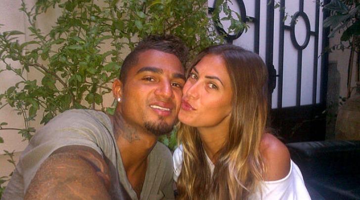 Kevin-Prince Boateng e Melissa Satta