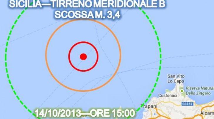 scossa sismica Piemonte