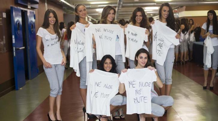 Miss Italia magliette anti-Boldrini