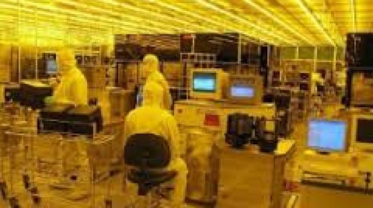 Il centro ricerche della Micron di Avezzano