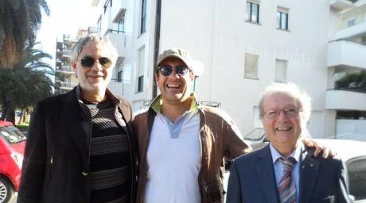 Andrea Bocelli a Pescara