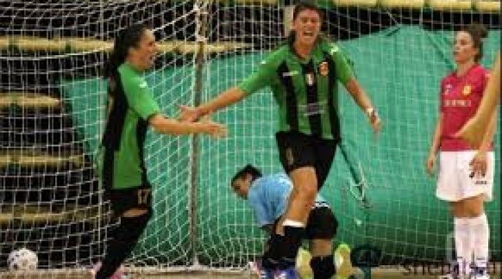 L'Az Gold Women festeggia un gol