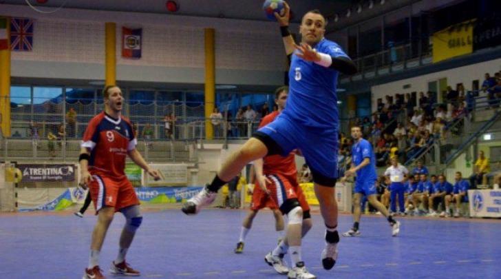 Nazionale italiana maschile di pallamano (foto tratta dal sito della FIGH)