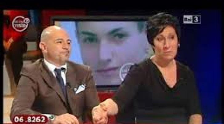 """Luisella Caldora con l'avvocato Stefano Palmeri a """"Chi l'ha visto?"""""""