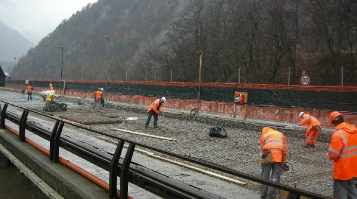 Cantiere autostrada
