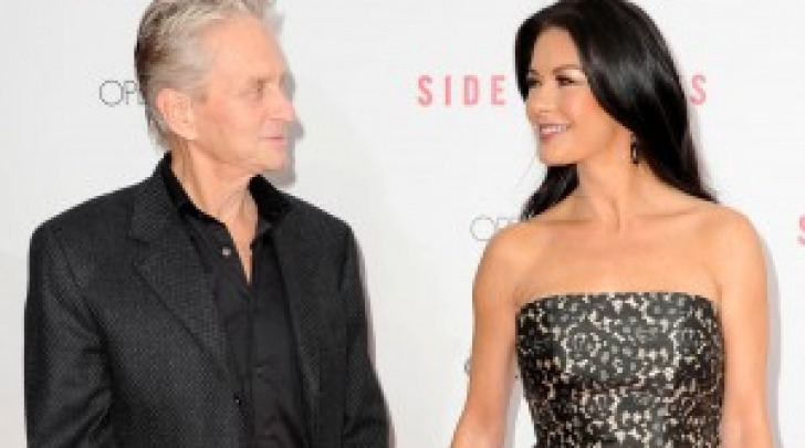 Catherine Zeta-Jones e Michael Douglas