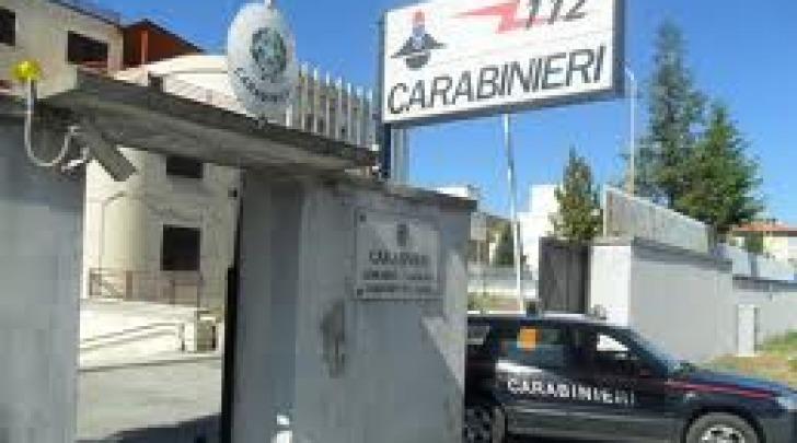 Caserma carabinieri AQ