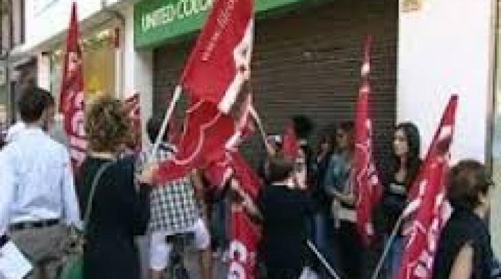 manifestazione lavoratori Benetton