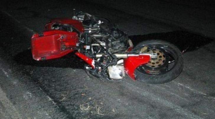 incidente moto, foto di repertorio