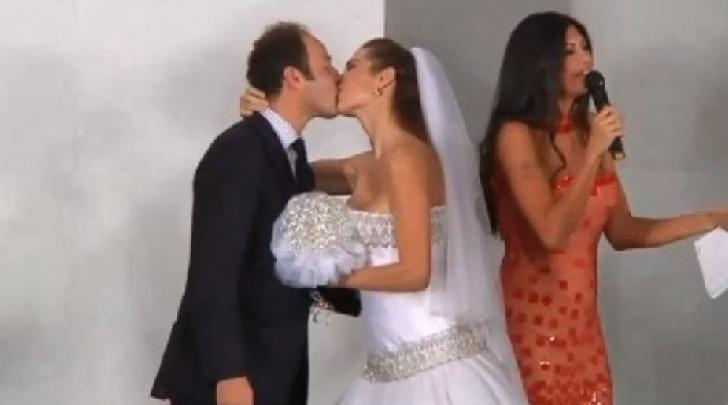 Marco Moraci e Veronica Maya