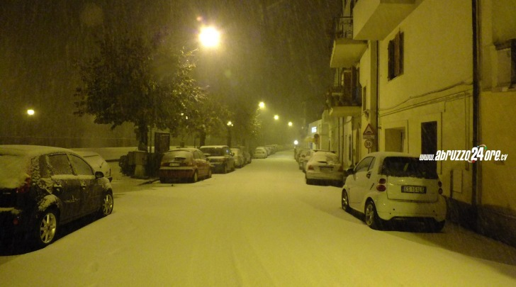 Nevicata Michele Raho