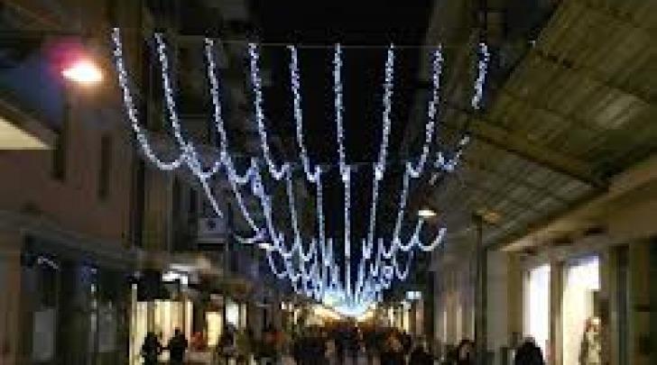 Luminarie natalizie 2012 a Pescara