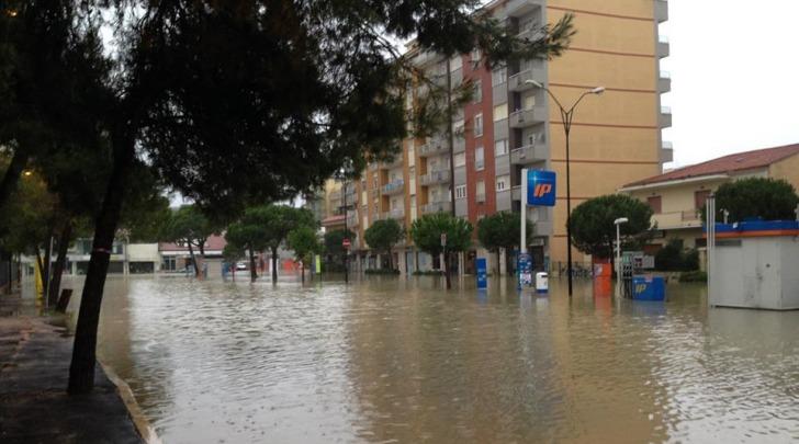 Pescara allagamento