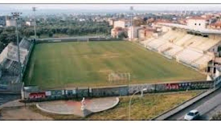 """Lo stadio """"Guido D'Ippolito"""" di Lamezia Terme"""