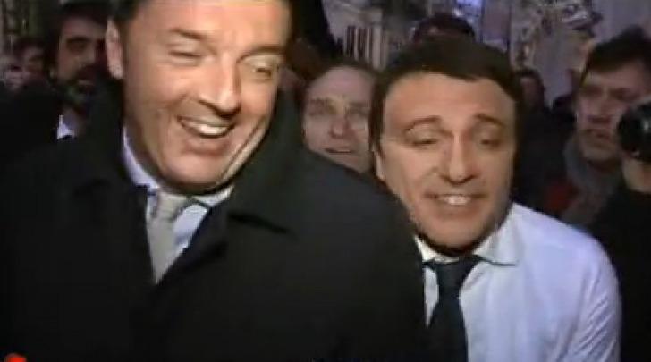 Matteo Renzi e Dario Ballantini