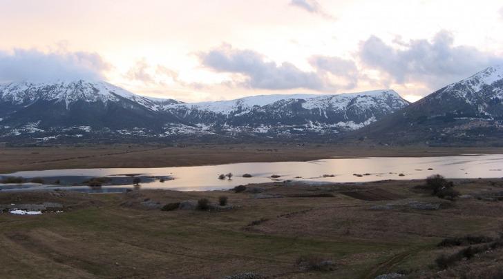 Le Prata di Terranera, una zona che verrebbe esclusa dal Parco Sirente Velino