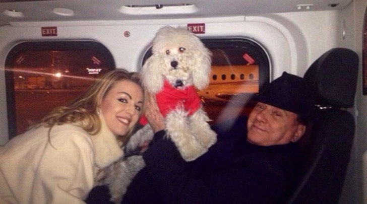 Berlusconi, Pascale e Dudù