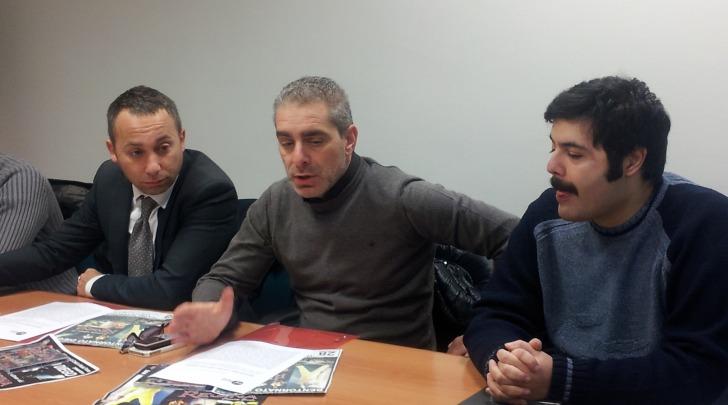 Marco Russo, Daniele La Plebe,Diego Regina